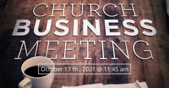 Semi-Annual Business Meeting