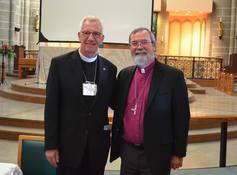 Bishopelect logan mcmenamie with the metropolitan