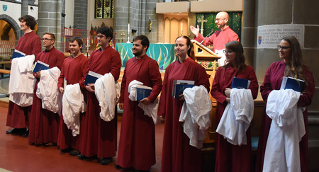 Choral Scholars presented