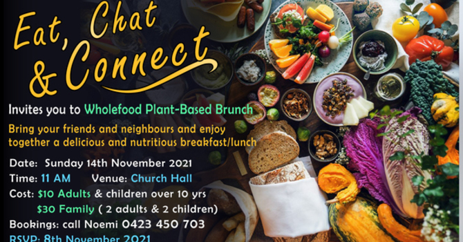 Eat Chat and Connect Brunch