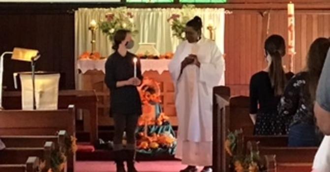A Thanksgiving Baptism