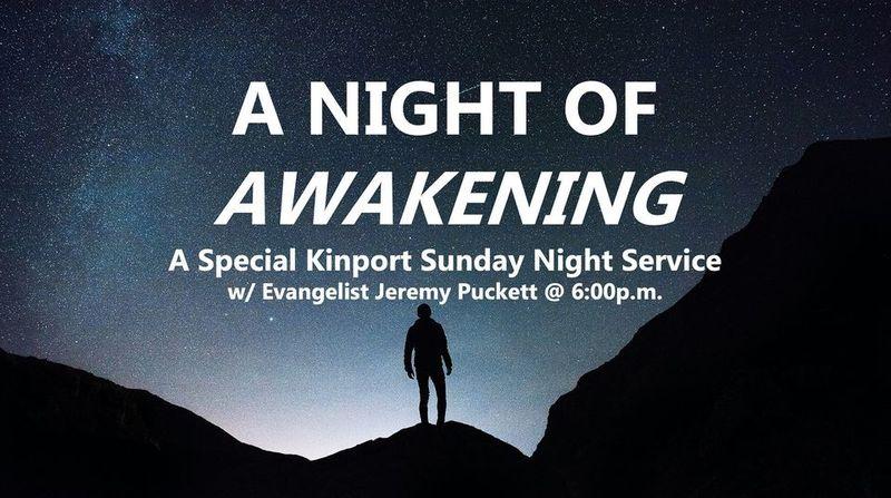 A Night of Awakening:  Fall 2021
