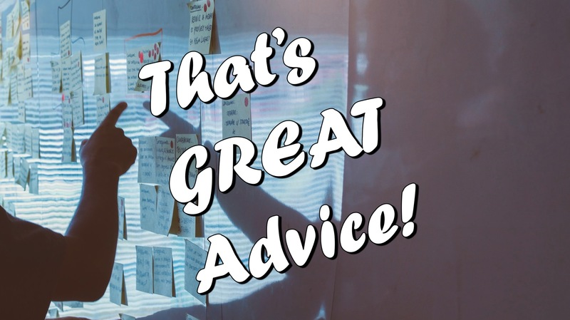 That's GREAT Advice:  The Great Commission