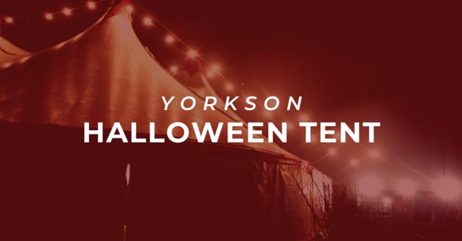Yorkson Halloween Community Tent