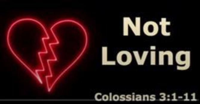 Not Loving