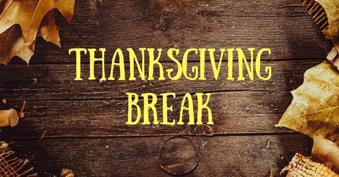 HBA Thanksgiving Break