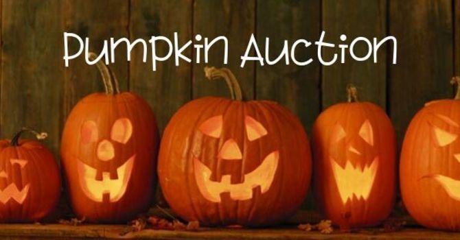 Annual Pumpkin Auction