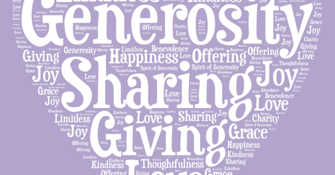 The Road To Being Generous