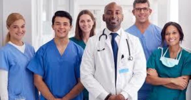 Blessing for healthcare workers image