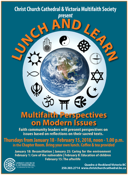 Lunch & Learn: Multifaith Perspectives