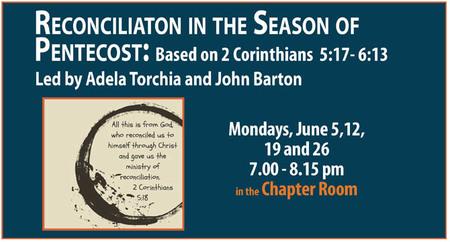 Reconciliation Bible Study