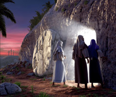 Women and empty tomb