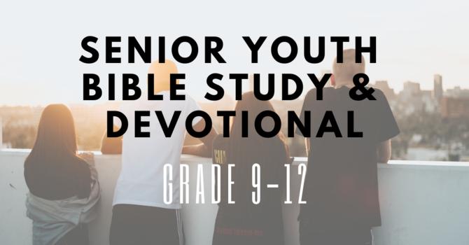 Senior Youth Bible Study