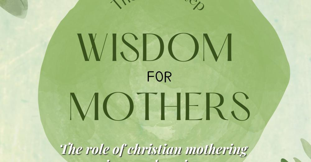 New: Christian Parenting program -- Recruiting now!