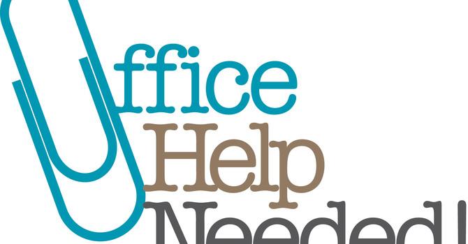 OFFICE HELP NEEDED image