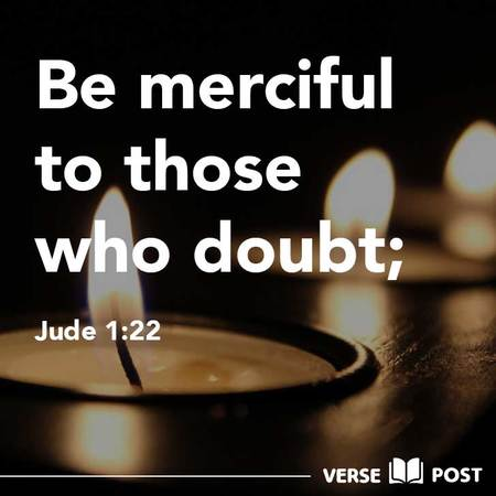 Be Merciful