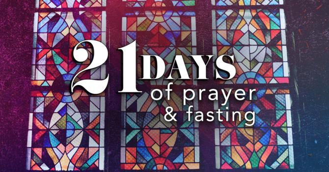 Fasting & Prayer / Week 1