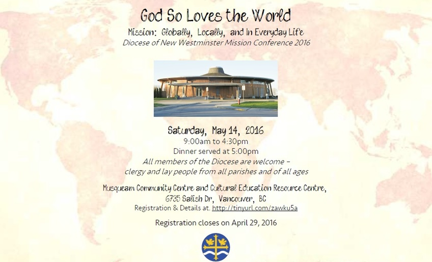 DoNW Mission Conference - God So Loves the World