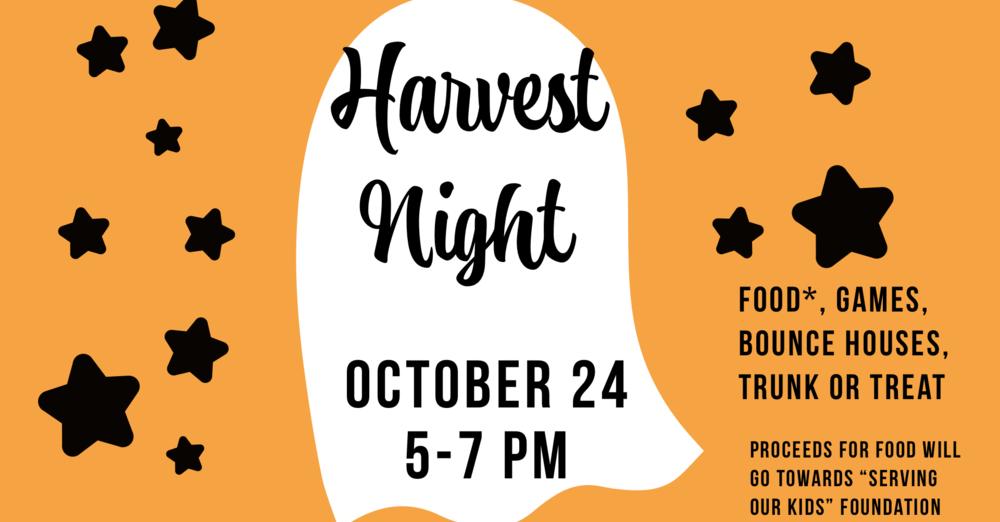 Oasis Harvest Night
