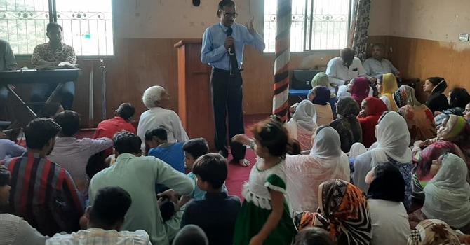 Bible Distribution By Grace of God