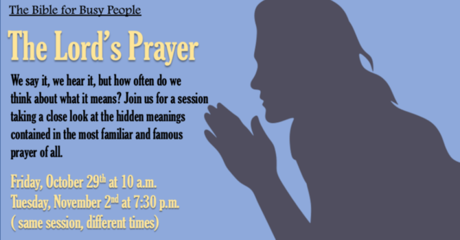 """Bible for Busy People """"The Lord's Prayer"""