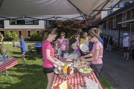 Dinners for the families of Deployed Military