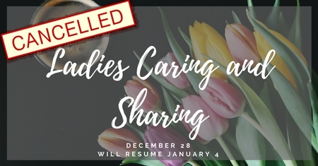Ladies caring and sharing cancelled