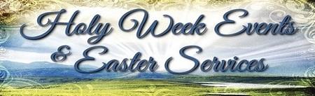 Easter Worship Servies