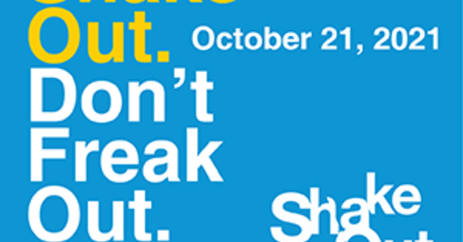 Shake Out. Don't Freak Out.
