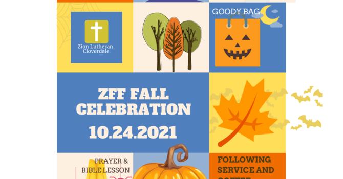 ZFF Fall Celebration Announced image