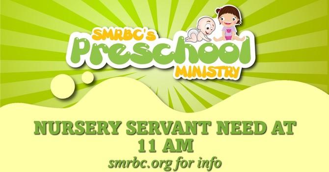 Fall Children's Sunday School Servant Needs (Updated) image