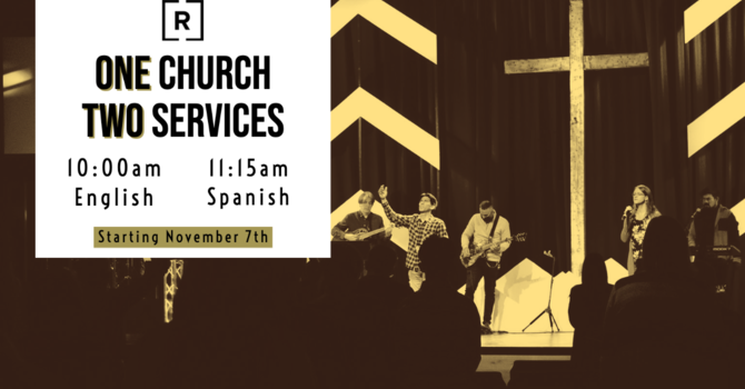 Two Services Starting November 7