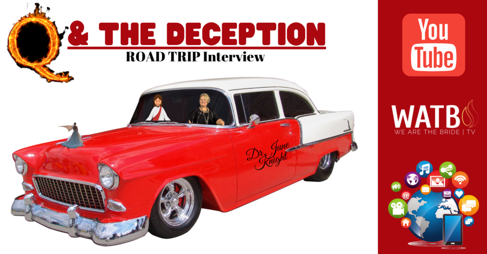 On the Road Interview with Woman Who Has Insight on Q & the Deception