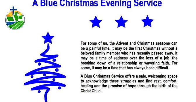 A Blue Christmas Evening Service