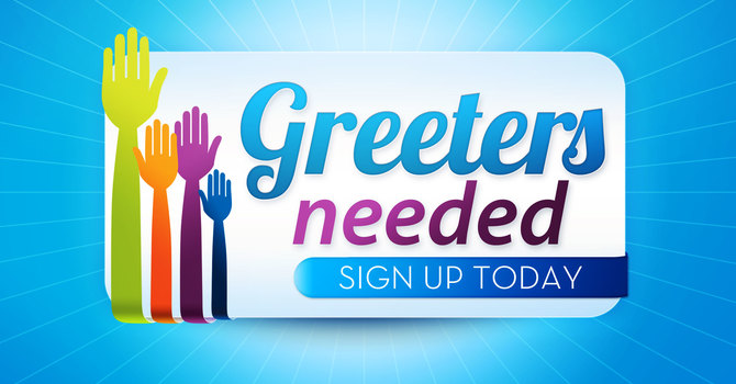 Greeters Needed for a Warm Welcome to SMRBC