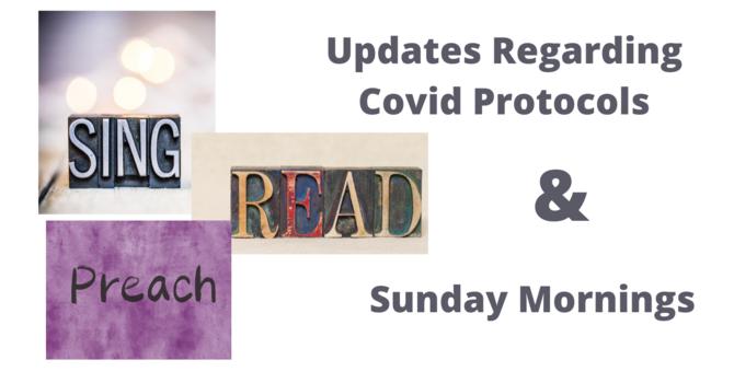 Updates Regarding Covid Protocols