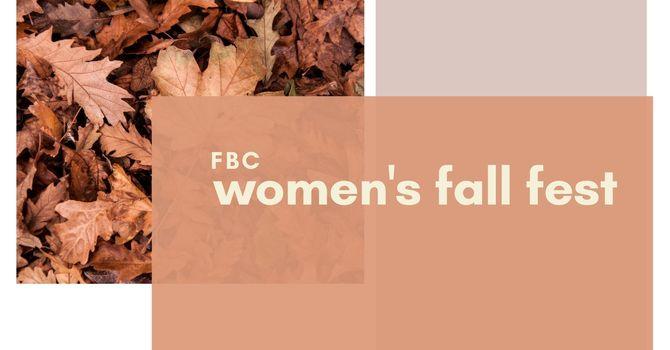 Women's Fall Fest