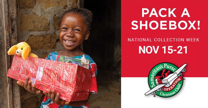 Operation Christmas Child Shoeboxes 2021 image