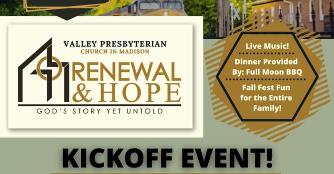 Renewal & Hope Kickoff