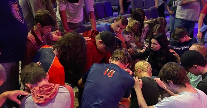 NIGHT OF WORSHIP AND PRAYER image