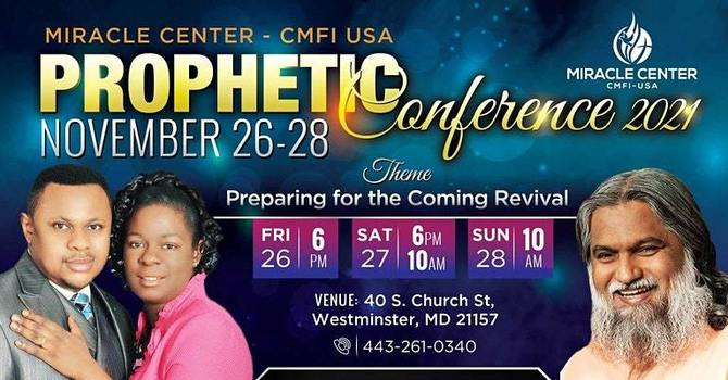 NOVEMBER 26-28, 2021: Prophetic Conference with Prophet Sadhu Sundar Selvaraj