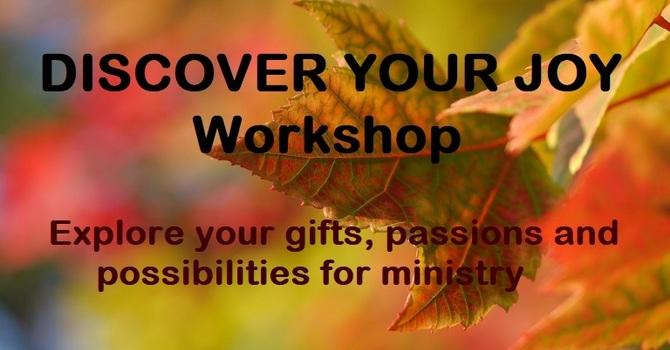 DISCOVER YOUR JOY - Eastern Shore Workshop