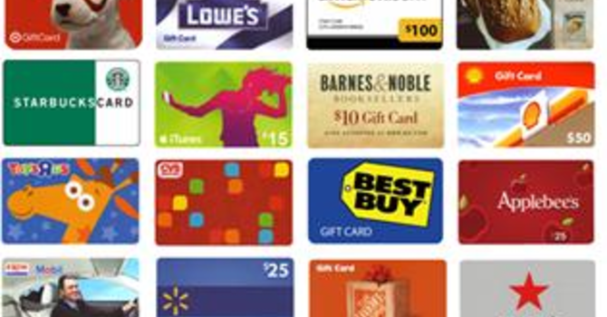 Shopping Cards Available Again