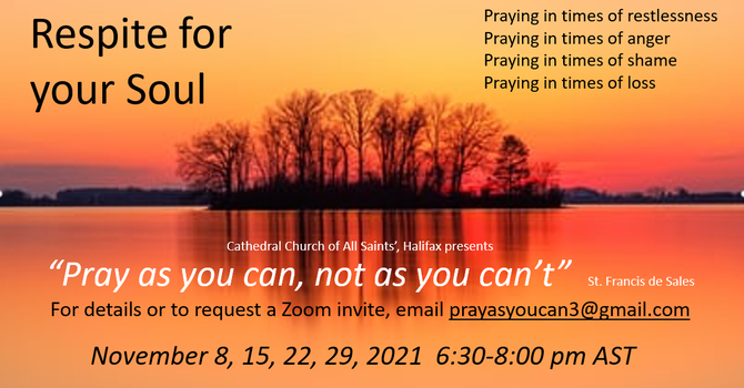 Pray as you can, not as you can't