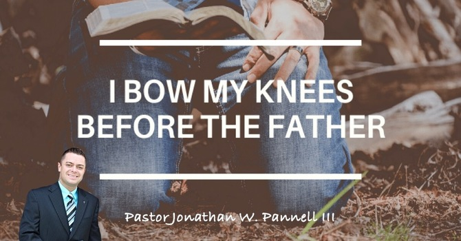 For This Reason, I bow...