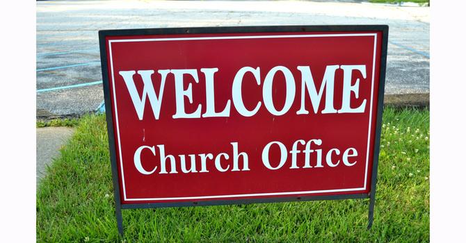 St. Paul's Anglican Church, Edmonton Seeking Office Admin image