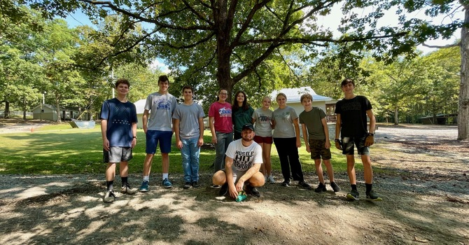 Youth Service Project at Crystal Springs image
