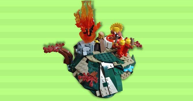 LEGO Bible Build