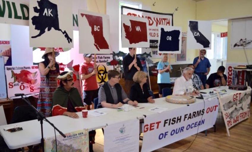 Fish Farm Free Pacific Coast