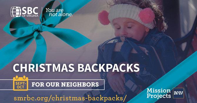 Drop-Off Sunday for Christmas Backpacks